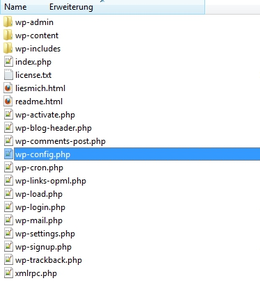 Wordpress - wp-config.php