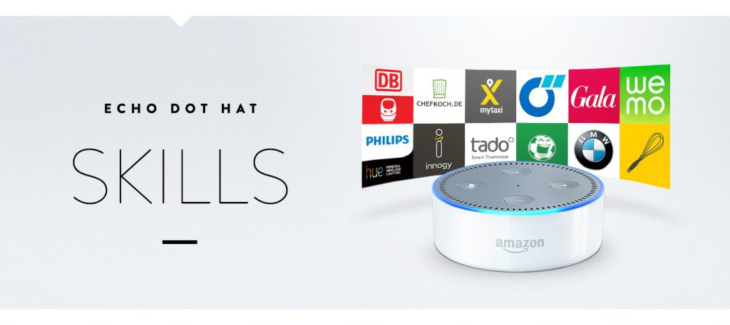 Amazon Echo & Echo Dot - Echo Dot Skills