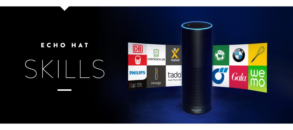 Amazon Echo & Echo Dot - Echo Skills