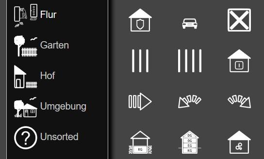 FHEM Raum Icons